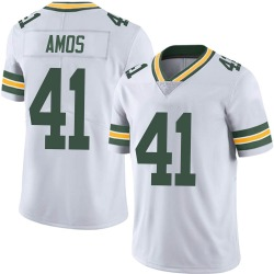 DaShaun Amos Green Bay Packers Men's Limited Vapor Untouchable Nike Jersey - White