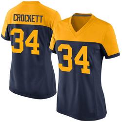 Damarea Crockett Green Bay Packers Women's Game Alternate Nike Jersey - Navy
