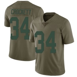 Damarea Crockett Green Bay Packers Youth Limited Salute to Service Nike Jersey - Green