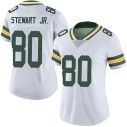 Darrell Stewart Jr. Green Bay Packers Women's Limited Vapor Untouchable Nike Jersey - White