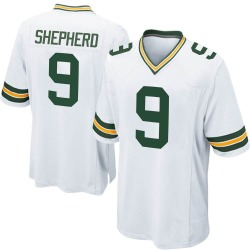 Darrius Shepherd Green Bay Packers Men's Game Nike Jersey - White