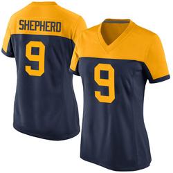 Darrius Shepherd Green Bay Packers Women's Game Alternate Nike Jersey - Navy