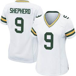 Darrius Shepherd Green Bay Packers Women's Game Nike Jersey - White