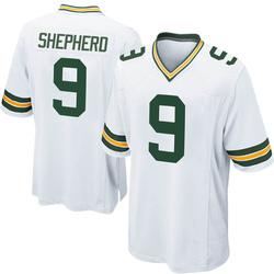 Darrius Shepherd Green Bay Packers Youth Game Nike Jersey - White
