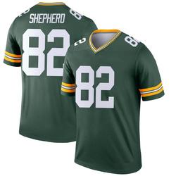 Darrius Shepherd Green Bay Packers Youth Legend Nike Jersey - Green