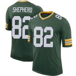Darrius Shepherd Green Bay Packers Youth Limited 100th Vapor Nike Jersey - Green