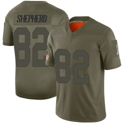 Darrius Shepherd Green Bay Packers Youth Limited 2019 Salute to Service Nike Jersey - Camo