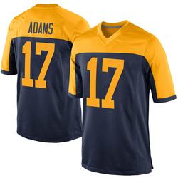 Davante Adams Green Bay Packers Men's Game Alternate Nike Jersey - Navy