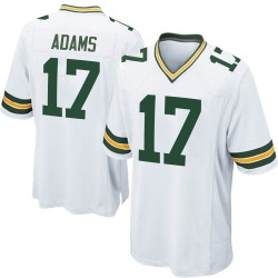 Davante Adams Green Bay Packers Men's Game Nike Jersey - White