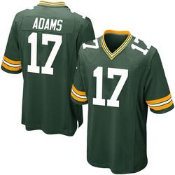 Davante Adams Green Bay Packers Men's Game Team Color Nike Jersey - Green