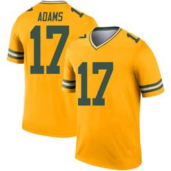 Davante Adams Green Bay Packers Men's Legend Inverted Nike Jersey - Gold