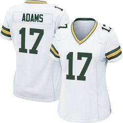Davante Adams Green Bay Packers Women's Game Nike Jersey - White