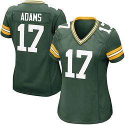 Davante Adams Green Bay Packers Women's Game Team Color Nike Jersey - Green
