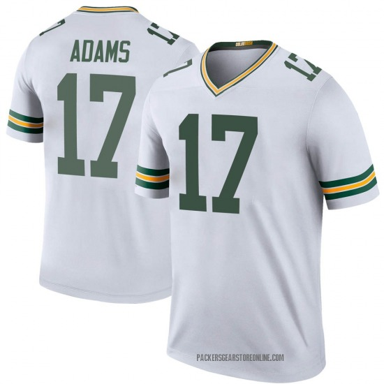 Davante Adams Green Bay Packers Youth Color Rush Legend Jersey - White