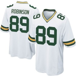 Dave Robinson Green Bay Packers Men's Game Nike Jersey - White