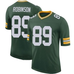 Dave Robinson Green Bay Packers Men's Limited 100th Vapor Nike Jersey - Green