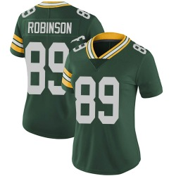 Dave Robinson Green Bay Packers Women's Limited Team Color Vapor Untouchable Nike Jersey - Green