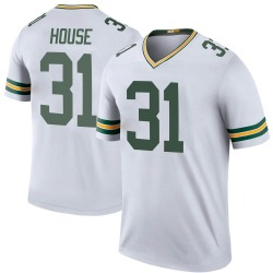 Davon House Green Bay Packers Men's Color Rush Legend Jersey - White