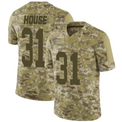 Davon House Green Bay Packers Men's Limited 2018 Salute to Service Jersey - Camo