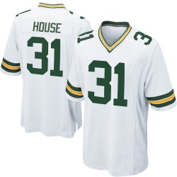 Davon House Green Bay Packers Youth Game Nike Jersey - White