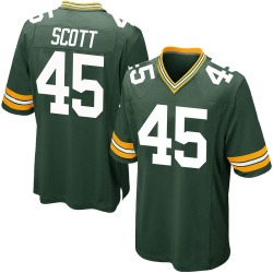 Delontae Scott Green Bay Packers Men's Game Team Color Nike Jersey - Green