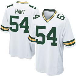 Derek Hart Green Bay Packers Men's Game Nike Jersey - White