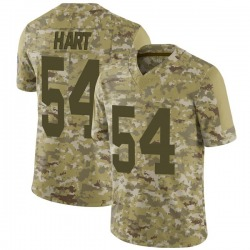 Derek Hart Green Bay Packers Youth Limited 2018 Salute to Service Nike Jersey - Camo