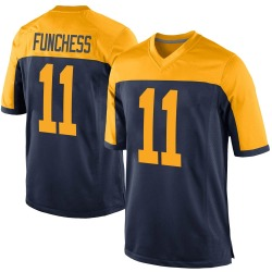 Devin Funchess Green Bay Packers Men's Game Alternate Nike Jersey - Navy