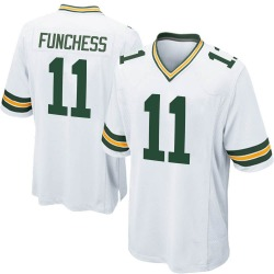 Devin Funchess Green Bay Packers Youth Game Nike Jersey - White
