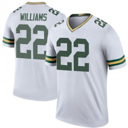 Dexter Williams Green Bay Packers Men's Color Rush Legend Nike Jersey - White