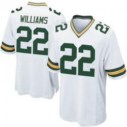 Dexter Williams Green Bay Packers Men's Game Nike Jersey - White