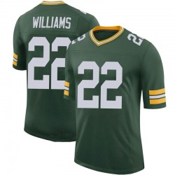 Dexter Williams Green Bay Packers Men's Limited 100th Vapor Nike Jersey - Green