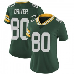 Donald Driver Green Bay Packers Women's Limited Team Color Vapor Untouchable Nike Jersey - Green