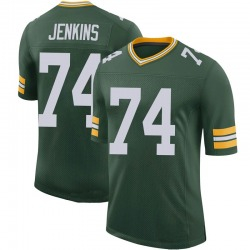 Elgton Jenkins Green Bay Packers Men's Limited 100th Vapor Nike Jersey - Green