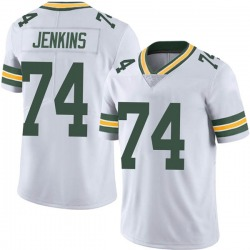 Elgton Jenkins Green Bay Packers Men's Limited Vapor Untouchable Nike Jersey - White
