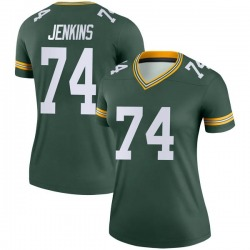 Elgton Jenkins Green Bay Packers Women's Legend Nike Jersey - Green