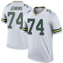 Elgton Jenkins Green Bay Packers Youth Color Rush Legend Nike Jersey - White