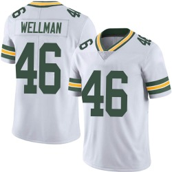 Elijah Wellman Green Bay Packers Youth Limited Vapor Untouchable Nike Jersey - White
