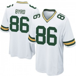 Emanuel Byrd Green Bay Packers Men's Game Nike Jersey - White