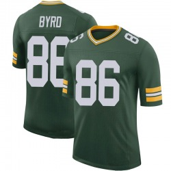 Emanuel Byrd Green Bay Packers Men's Limited 100th Vapor Nike Jersey - Green