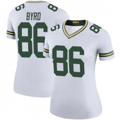 Emanuel Byrd Green Bay Packers Women's Color Rush Legend Nike Jersey - White