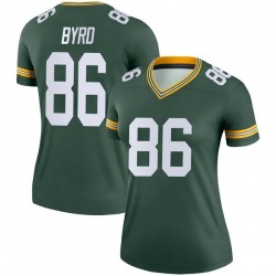Emanuel Byrd Green Bay Packers Women's Legend Nike Jersey - Green