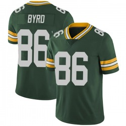 Emanuel Byrd Green Bay Packers Youth Limited Team Color Vapor Untouchable Nike Jersey - Green