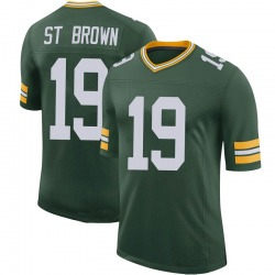 Equanimeous St. Brown Green Bay Packers Men's Limited 100th Vapor Nike Jersey - Green