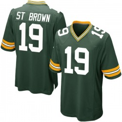 Equanimeous St. Brown Green Bay Packers Youth Game Team Color Nike Jersey - Green