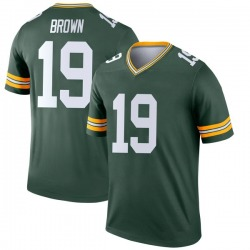 Equanimeous St. Brown Green Bay Packers Youth Legend Nike Jersey - Green