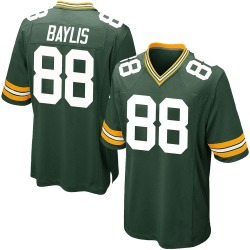 Evan Baylis Green Bay Packers Men's Game Team Color Nike Jersey - Green