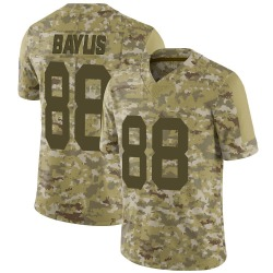 Evan Baylis Green Bay Packers Men's Limited 2018 Salute to Service Nike Jersey - Camo