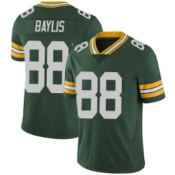 Evan Baylis Green Bay Packers Men's Limited Team Color Vapor Untouchable Nike Jersey - Green
