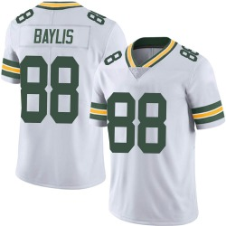 Evan Baylis Green Bay Packers Men's Limited Vapor Untouchable Nike Jersey - White